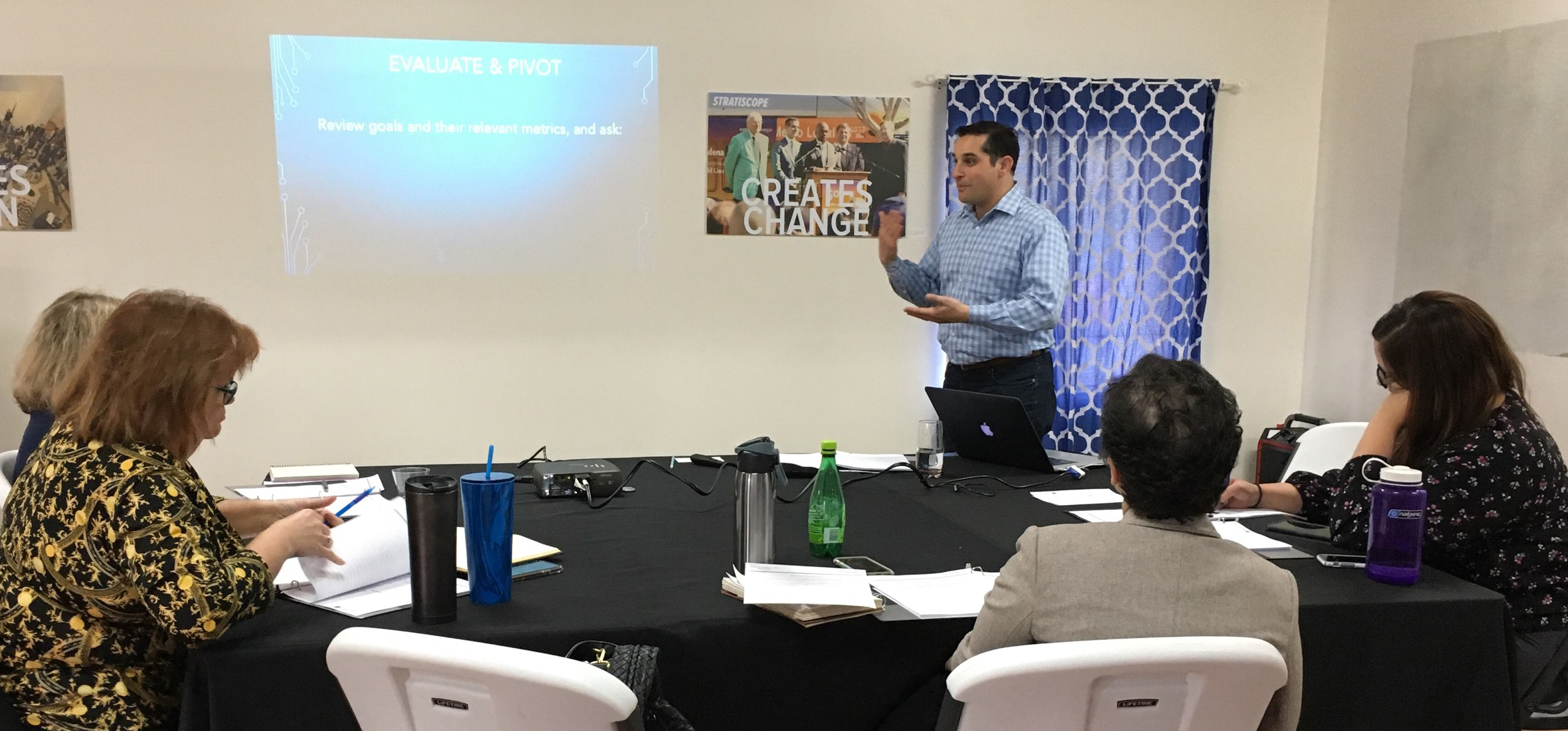 Stratiscope offers a range of leadership training programs