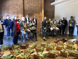 Stratiscope began LA Leaders Lunch program in 2019