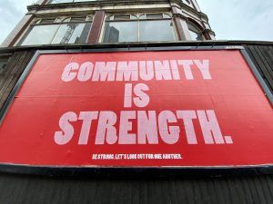 Community connections will strengthen you in times of crisis.